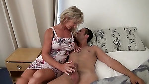 Classy  blonde loves having her pussy licked and fucked hard